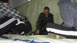 """Військовий вишкіл для молоді на базі МГО """"Сонячна Січ"""""""