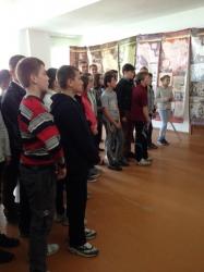 Відкриття виставки «Народна війна» в с.Витвиця