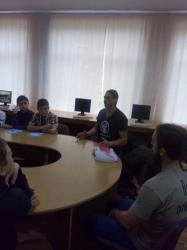 Зустріч з учнями 7-Б класу м.Долина