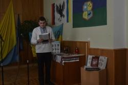 """Презентація виставки """"Народна війна"""" в Лісогосподарському коледжі."""