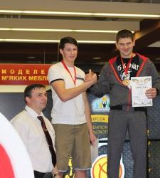 Перемога на чемпіонаті світу з гирьового спорту!