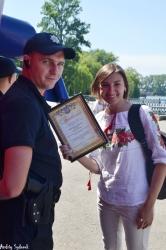 Нагородження  активних учасників молодіжного руху на Прикарпатті.