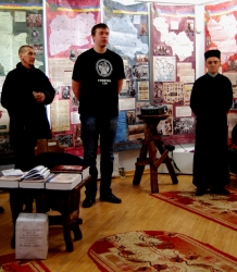 """Презентація виставки """"Народна війна""""в музею """"Бойківщина"""""""
