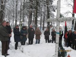Вшанування пам'яті вояків УПА в с.Слобода-Болехівська