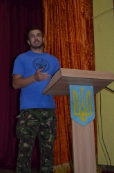 Просвітницький захід до Дня Конституції України - смт.Вигода.