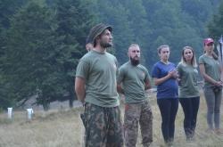 """Всеукраїнський військово-патріотичний вишкіл """"Nескорені"""" День 1"""