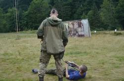 """Всеукраїнський військово-патріотичний вишкіл """"Nескорені"""" День 2."""