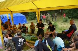 """Всеукраїнський військово-патріотичний вишкіл """"Nескорені"""" День 3."""