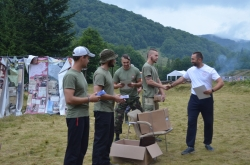 """Всеукраїнський військово-патріотичний вишкіл """"Nескорені"""" День 6."""
