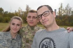 """Військово-патріотичний вишкіл """"Воїн"""", присвячений Дню Покрови."""