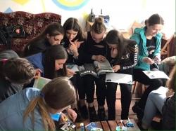 """Мотиваційний тренінг для дівчаток 7-10 класів - в МЦ """"СІЧ"""""""