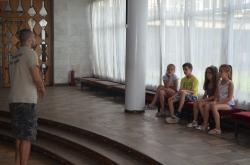 Нацьонально-патріотичне виховання для відпочиваючих дітей м.Моршина.