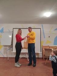 Нагородження переможців конкурсу до 5-ї річниці створення організації.