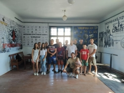 Відкриття спортзалу у Витвицькій громаді.