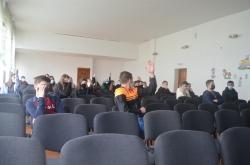 Сьогодні провели тренінги на екологічну тематику в чотирьох навчальних закладах.