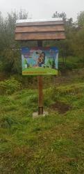 Встановлено екологічно-інформаційний стенд у с.Грабів, Долинської громади.